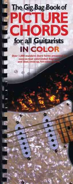 The Gig Bag Book of Picture Chords for All Guitarists: In Color (Paperback)