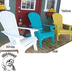 Forever Phat Tommy Recycled Polywood Folding Adirondack Chair