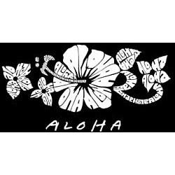Los Angeles Pop Art Aloha Large Shopping Tote