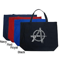 Los Angeles Pop Art Anarchy Large Shopping Tote