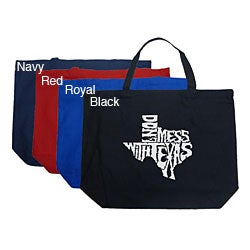 Los Angeles Pop Art Large 'Don't Mess With Texas' Shopping Tote