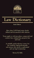 Law Dictionary (Paperback)