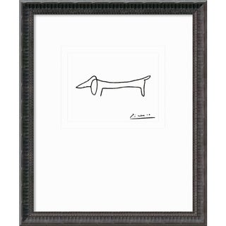 Pablo Picasso 'Le Chien (The Dog)' Framed Art Print