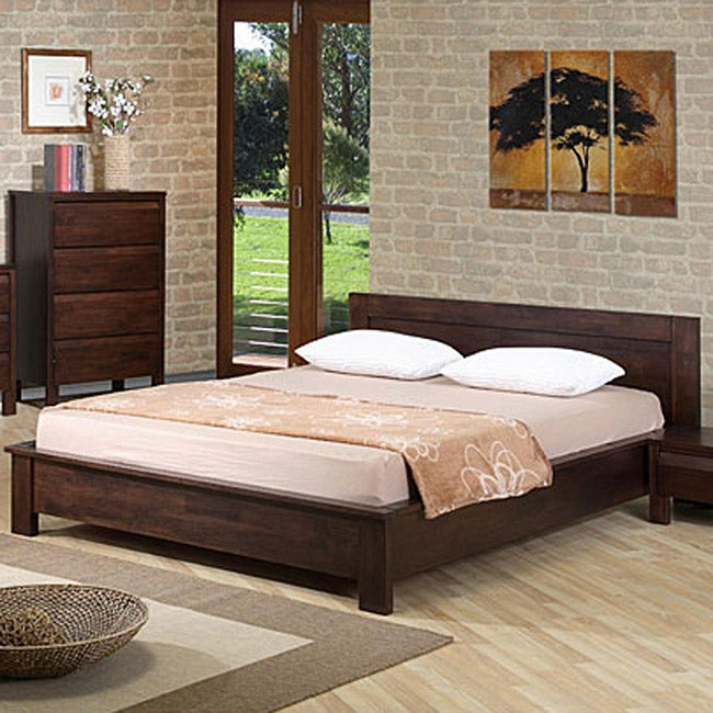 sturdy queen platform bed 2