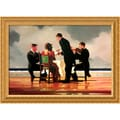 Jack Vettriano 'Elegy for the Dead Admiral' Framed Canvas Art