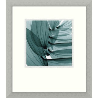 Steven N. Meyers 'Lily Leaves' Framed Floral Art Print