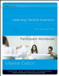 Learning Tactics Inventory Participant Workbook (Paperback)