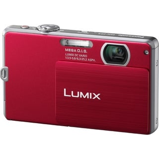 Panasonic Lumix DMC-FP3 14.1 Megapixel Compact Camera - Red