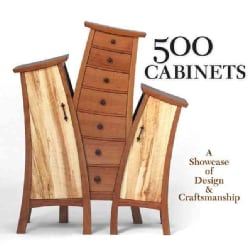 500 Cabinets: A Showcase of Design & Craftsmanship (Paperback)