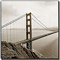 Preston 'Golden Gate' Gallery-wrapped Canvas Art