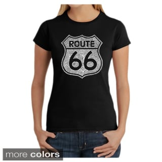Los Angeles Pop Art Women's Route 66 T-shirt