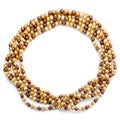 DaVonna Champange FW Pearl 48-inch Endless Necklace (6.5-7 mm)