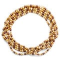 DaVonna Champange FW Pearl 80-inch Endless Necklace (7.5-8 mm)