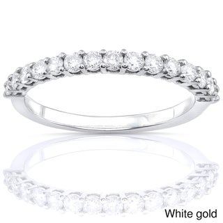 Annello 14k Gold Women's 1/2ct TDW Diamond Wedding Band (G-H, I1-I2)