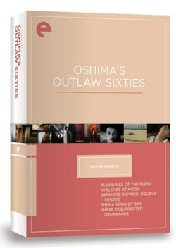 Eclipse Series 21: Oshima's Outlaw Sixties (DVD)