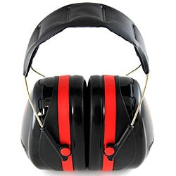 Peltor Black/ Red Ultimate 10 Hearing Protector