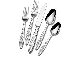 Mikasa 'Pure Red' 5-piece Flatware Set