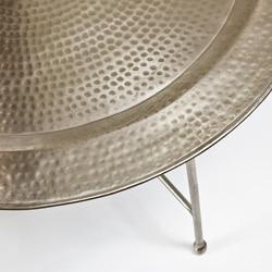 Antique Nickel Coffee Table (India)