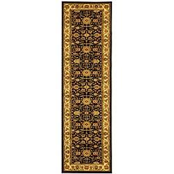 Safavieh Lyndhurst Collection Majestic Black/ Ivory Runner (2'3 x 20')