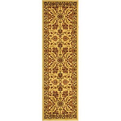 Safavieh Lyndhurst Collection Heritage Ivory/ Ivory Runner (2'3 x 20')