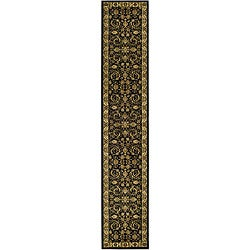 Safavieh Lyndhurst Collection Black/ Ivory Runner (2'3 x 20')