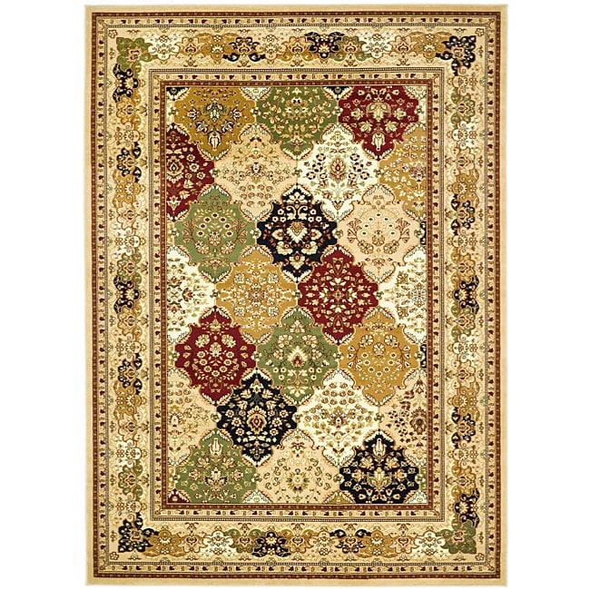 Safavieh Lyndhurst Collection Multicolor/ Beige Rug (6' x 9')
