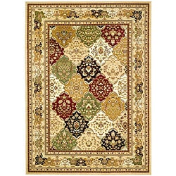 Safavieh Lyndhurst Collection Multicolor/ Beige Rug (6' x 9')