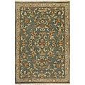 Hand-knotted Legacy Beige New Zealand Wool Rug (8' x 11')
