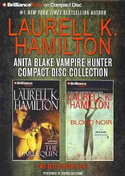 Laurell K. Hamilton Anita Blake Vampire Hunter Compact Disc Collection: The Harlequin / Blood Noir (CD-Audio)