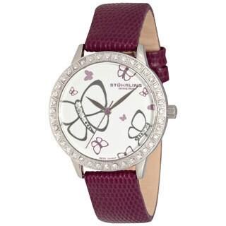 Stuhrling Original Women's 'Fantasia' Crystal Watch
