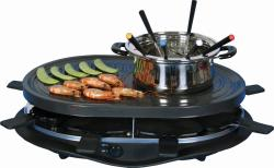 E-Ware Grill/ Fondue Pot with Thermostat Control