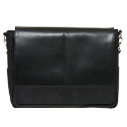 Royce Leather Laptop Messenger Bag