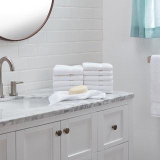 Authentic Hotel Spa Turkish Cotton Washcloth (Set of 12)