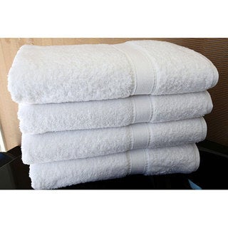 Authentic Hotel and Spa Turkish Cotton Bath Towels (Set of 4)