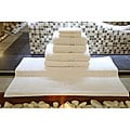 Authentic Hotel & Spa Turkish Cotton 7-piece Towel Set with Bath Mat