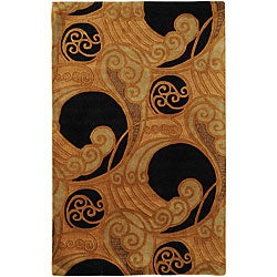 Hand-tufted Oslo New Zealand Wool Rug (9' x 13')