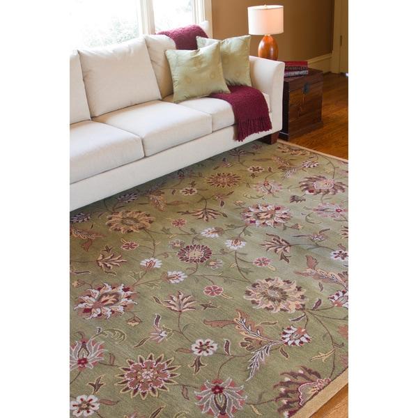 Hand-tufted Augusta Wool Rug (8' x 11')