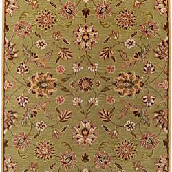 Hand-tufted Augusta Sage Wool Rug (7'6 x 9'6)