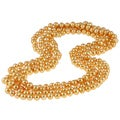 Gold Freshwater Pearl 100-inch Endless Necklace (9-10 mm)