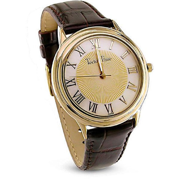 TechnoTime Men's Goldplated Watch