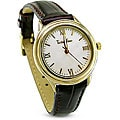 TechnoTime Women's Silver Goldplated Watch