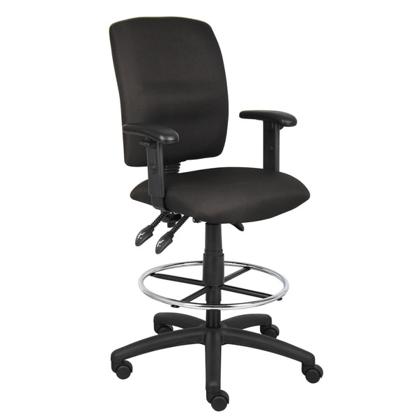 Boss Multi-Function Drafting Stool with Adjustable Arms