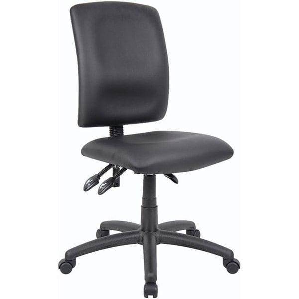 Boss LeatherPlus Multi-function Task Chair