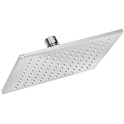 Thin Brass 8-inch Square Shower Head