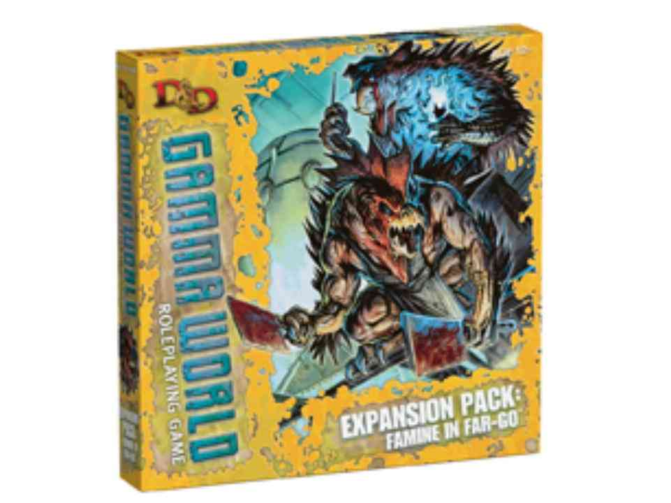 D&D Gamma World: Expansion Pack: Famine in Far-Go (Game)