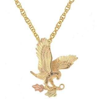 Black Hills Gold Eagle Necklace