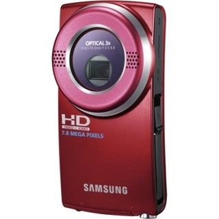 "Samsung HMX-U20 Digital Camcorder - 2"" LCD - CMOS - Red"
