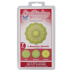Spellbinders Nestabilities 'Big Scalloped Circles' Dies
