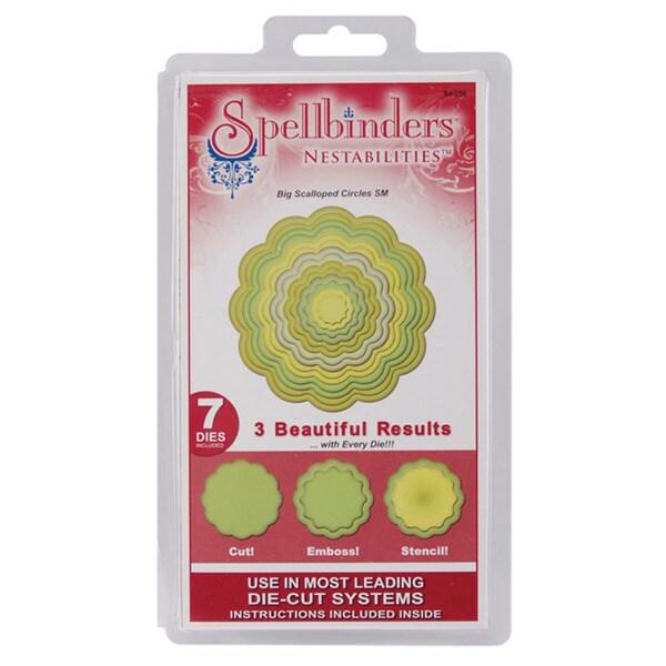 Spellbinders Nestabilities 'Big Scalloped Circles' Dies