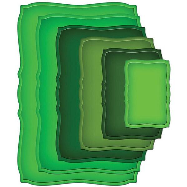 Spellbinders Megabilities Curved Rectangles Die Cut